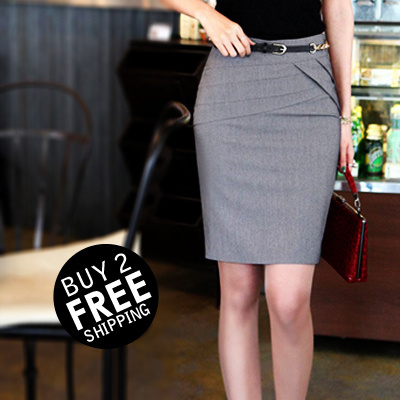 New Arrival Women Fashion Office Formal Skirts Blouse Skirt Size Xs To
