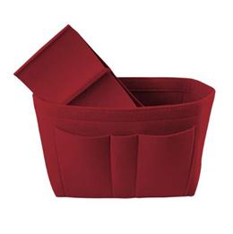 Felt Organizer Storage Bag Home Closet Organizer Folding Office Desk Wardrobe Organizer Jewelry Cosm