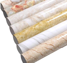 Thickened marble pattern refurbished stickers pvc self - adhesive wallpaper