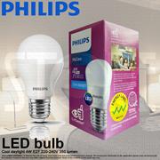 Philips LED Light bulb E27 220-240V (4W 6W 6.5W 10.5W 12W)