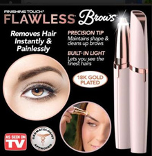 Flawless Brows Hair Electric Remover Best Eyebrow Trimmer Painless Hair Remover Flawlessly Touch