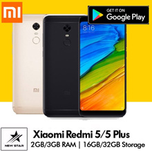 [GROUPBUY]Xiaomi Redmi 5/5 Plus |12 MP Cam | 2GB/3GB RAM | 16GB/32GB Storage | Playstore Install