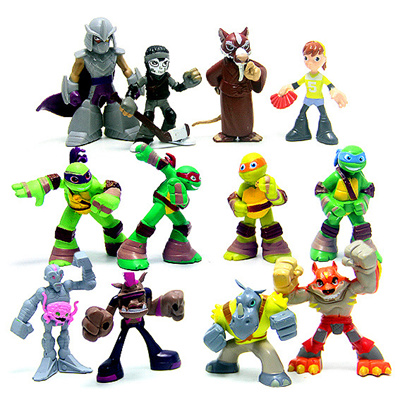 Cake Decor Figurines : Qoo10 - Ninja Turtle Figurines / Cake Toppers : Furniture ...