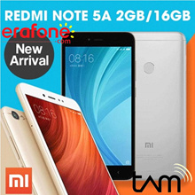 Xiaomi Redmi Note 5A 2GB/16GB - Garansi Resmi TAM 1 Tahun
