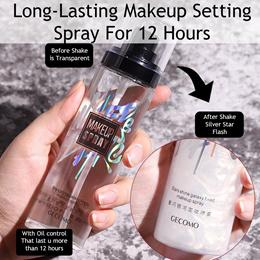 GECOMO Makeup Spray Setting Spray Long-lasting Oil-control Moisturizing 100ml