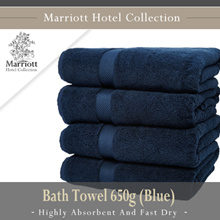 Marriott Hotel Collection Bath Towel 650g (Blue)