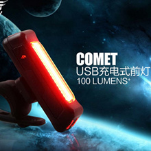 Bicycle Light USB Rechargeable LED Headlight Folding Bike Electric Scooter Mountain Road Parts Acces
