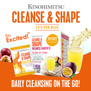 Cleanse n Shape Smoothie 15s x 2 Cleansing on the go *Slimming * Detox * Cleanse*