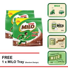 NESTLE MILO 3IN1 ACTIV-GO 18 Sticks  Buy 2 Free 1 Milo Tray