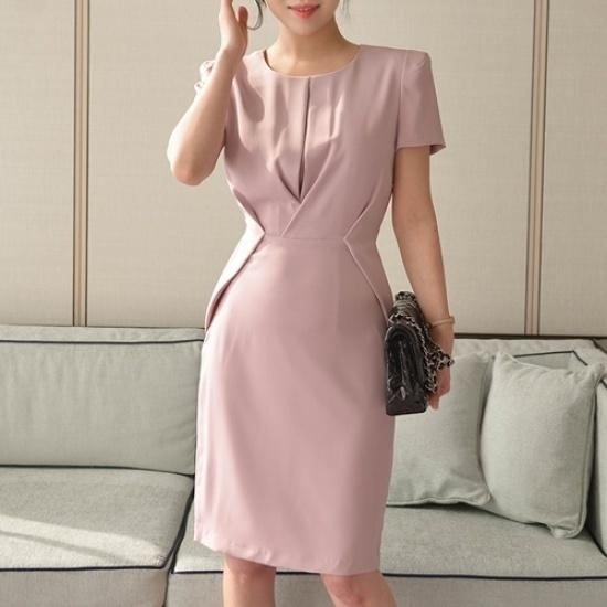 悪女日記】モディスパンワンピース5577 綿ワンピース/ 韓国ファッション