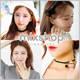 CHOKER NECKLACE FASHION ACCESSORIES ($2~$6)  /Hair ties  / clip /Hair band/Head Band