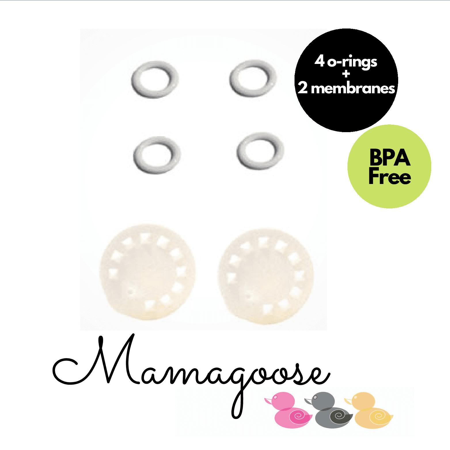 Maymom O-ring and Membrane for Medela Harmony