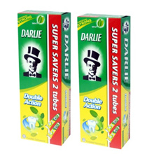 Darlie Double Action Toothpaste 4 tubes x 225g