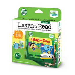 LeapFrog LeapStart Book - Learn To Read (Volume 1/ Volume 2)
