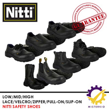 Steel-Toe Safety Shoes /Safety Boots ♥Ready-Stock in SG♥