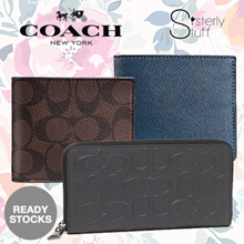 READY STOCK IN SG - AUTHENTIC COACH MENS WALLET