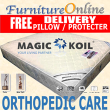 Magic Koil Orthopedic Care Individual Pocket Spring mattress. Firm and orthopaedic support. FREE Magickoil pillow mattress protector and delivery !