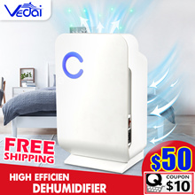 VEDAI Dehumidifier+Air Purifier High Efficiency Automatic Electronic Mildew Killler⚡SG Plug⚡Home