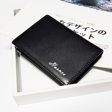 Leather Name Card Holder / Organizer / Soft Leather / Matt / Glossy Surface