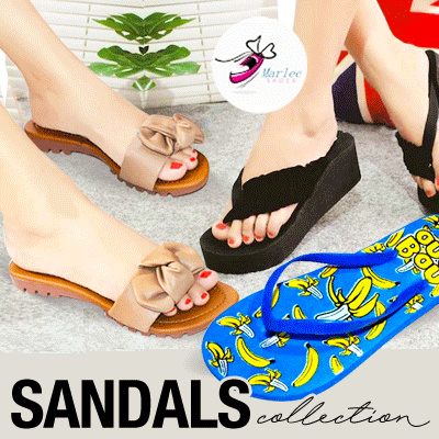 [ NEW COLLECTION ADDED ] PEAK DAYS PROMOTION MARLEE FLIP FLOP SANDALS // FLAT SHOES