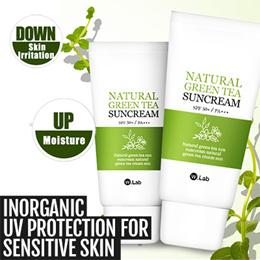 [W.Lab] Natural Greentea Sunblock SPF50+ PA+++