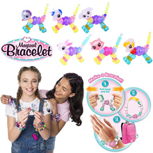 2018 New DIY Toys Twisty Petz Animals Magic Tricks Bracelet Stitching Funny Toys For Girls Gifts
