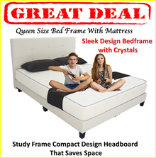 LOWEST Priced Bed Frame with Mattress ! FREE DELIVERY FREE INSTALLATION)
