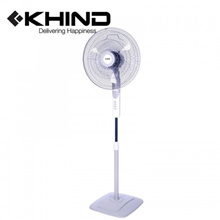 KHIND 3 Blades 16&quot  Stand Fan  3 Speed Adjustable Height (SF1688E)