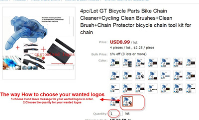 Qoo10 4pc Lot Bicycle Parts Bike Chain Cleaner Cycling Clean