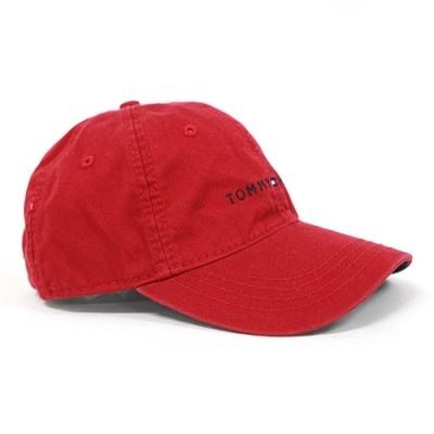 f57a1aee Qoo10 - Tommy Hilfiger Logo Hat camp cap red ballcap : Fashion ...