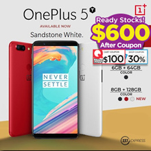 $600 Nett!!!! One Plus 5T | 64GB | 128GB | 3 Color