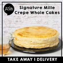 2Six Cafe - Signature Mille Crepe Whole Cakes 10 or 8 Inche(7 Flavours to choose from) FREE SHIPPING