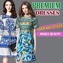 Premium dress /High quality dress antumm /winter dress korean /uk /office dress