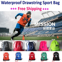 Free shipping! UNDER ARMOUR Waterproof Drawstring Bag/ sport waist pouch/ Wadlopen Drawstring bag
