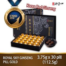 [New] Korea Royal Red Ginseng Chunsamae Emperor Chunsamhwan Pill Gold 3.75g x 30ea/kfood