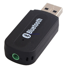 USB Bluetooth 3.5mm Stereo Audio Music Receiver Adapter for Speaker iPhone MP3