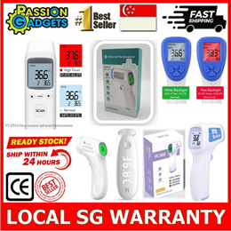 SGReadyStock!★Non contact Forehead Digital Thermometer High Accuracy Infrared Medical