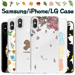 Clear Jelly Case★Mobile/iPhone XS/Max/XR/8/7/6/5/Plus/Samsung Note 9/8/5/A5/A7/A8/A9 2018/LG V40/V30