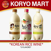 [Korea Bestseller] Korean rice wine 750ml / 4 Flavors