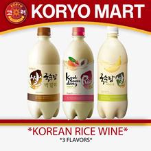 [Korea Bestseller] Korean rice wine 750ml / 4 Flavors