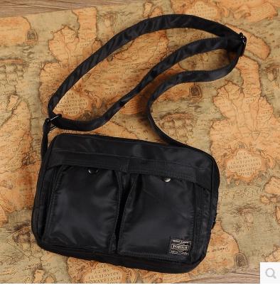 Japan Yoshida porter men and women shoulder bag sports and leisure postman nylon  shoulder bag Messen d4f2d68b555b1