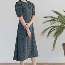★FREE SHIPPING★ TINE DOT LONG DRESS / Korean Dress / Shipping from Korea