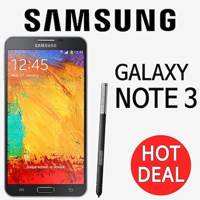 K Agency 2[APPLY $25 1 SHOP COUPON]Samsung Galaxy Note3 Refurbish Unlocked  GSM Mobile SM-N900 /Refurbished