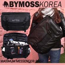 [BYMOSS] Maximum-Messanger Bag 2 / メ ン シ ョ ン バ ッ ク Korea Popular backpack bag Korea fashion / messenger bag Free shipping