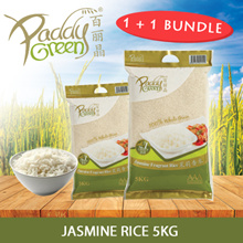 1+1 BUNDLE! PADDYGREEN Jasmine Rice 5Kg
