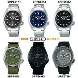 Seiko 5 Sports SRPE51K1 SRPE53K1 SRPE55K1 SRPE65K1 SRPE69K1 SRPE79K1 Mens Watch WORLDWIDE WARRANTY