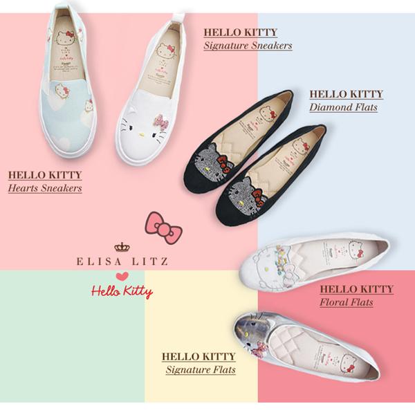 ELISA LITZ HELLO KITTY DATAR / PEMBUAT Kulit Asli | Sepatu Wanita | Fashion Wanita | Penjualan terbaik Deals for only Rp1.061.100 instead of Rp1.061.100