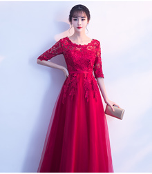 FREE SHIPPING ~ Size S-L Luxury Round Net Cocktail Fair lady Dress Y4848