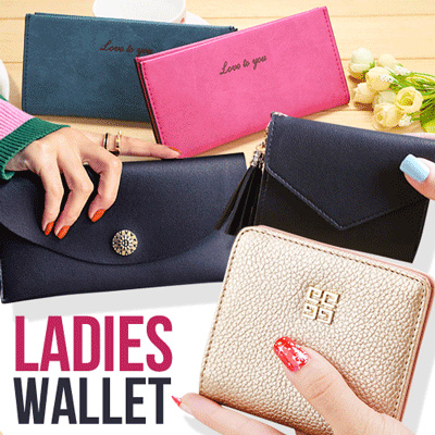 New Collection Women Wallet – 12 Style – Good Quality