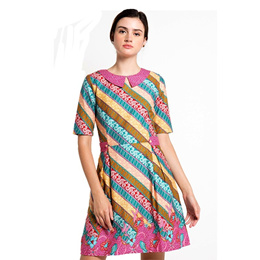 Rianty Batik Dress FEMALE DRESS NEVA Multicolour DressNevaPNK